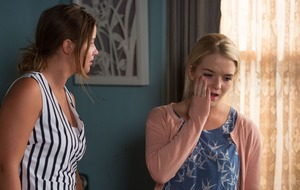 Abi Branning accuses sister Lauren of never loving Steven Beale in EastEnders