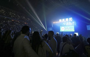 Manchester Arena reopens with charity concert after terror attack