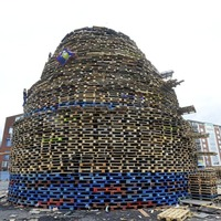Loyalists considered a bonfire on every corner in response to injunction
