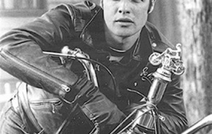 Cult Movie: Cool images of The Wild One considered incendiary stuff in 1950s