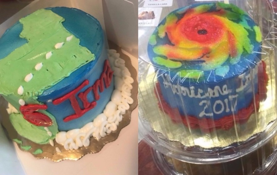 Hurricane Irma Themed Cakes Have Been Popping Up All Over Florida