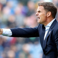 All the reaction as Frank De Boer is sacked in record time