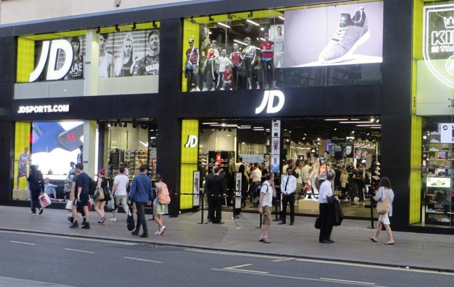 JD Sports share price rises on