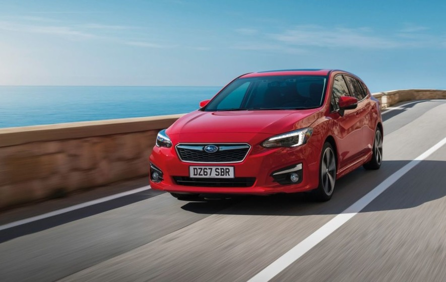 subaru impreza launched as all wheel drive ford focus rival. Black Bedroom Furniture Sets. Home Design Ideas