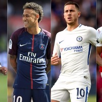 Here are the top 20 players in Fifa 18 – and how much their attributes have changed