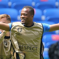 Patrice Evra's Monday was spent helping Marseille's homeless people
