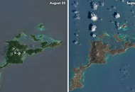These Nasa images show just how Hurricane Irma drastically changed the Caribbean islands