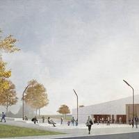 Work begins on new £2 million transport hub in west Belfast
