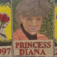 This memorial of Princess Diana is attracting attention for all the wrong reasons