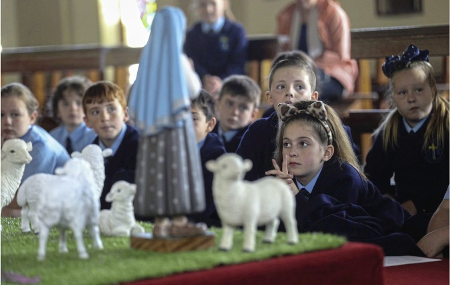 Statue Of Our Lady Of Fatima Comes To West Belfast Parish