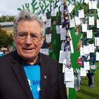 Terry Jones joins fight against dementia on Memory Walk