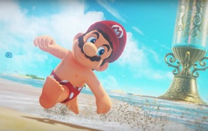 Mario's nipples are breaking the internet