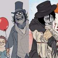 The internet decided Pennywise is in a relationship with the Babadook and it's oddly beautiful