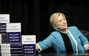 Hillary Clinton: Political stalemate at Stormont is worrying