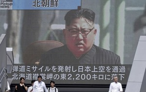 US calls for international measures against North Korea after Pyongyang launches missile over Japan