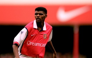 Arsenal fans! Nwankwo Kanu is ready if he's needed against Chelsea
