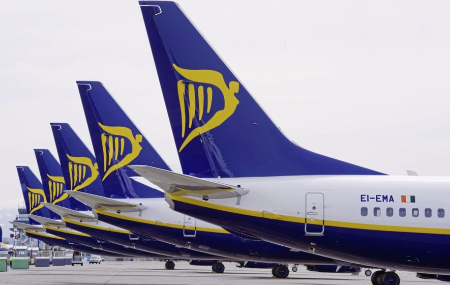 Ryanair plans to cancel up to 50 flights a day for the next six weeks