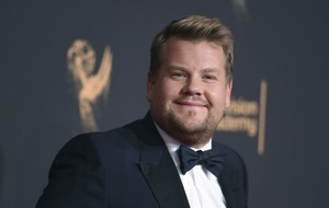 James Corden gets heat over Sean Spicer Emmys picture