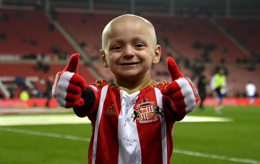 Everton FC and Sunderland to wear Bradley Lowery shirts