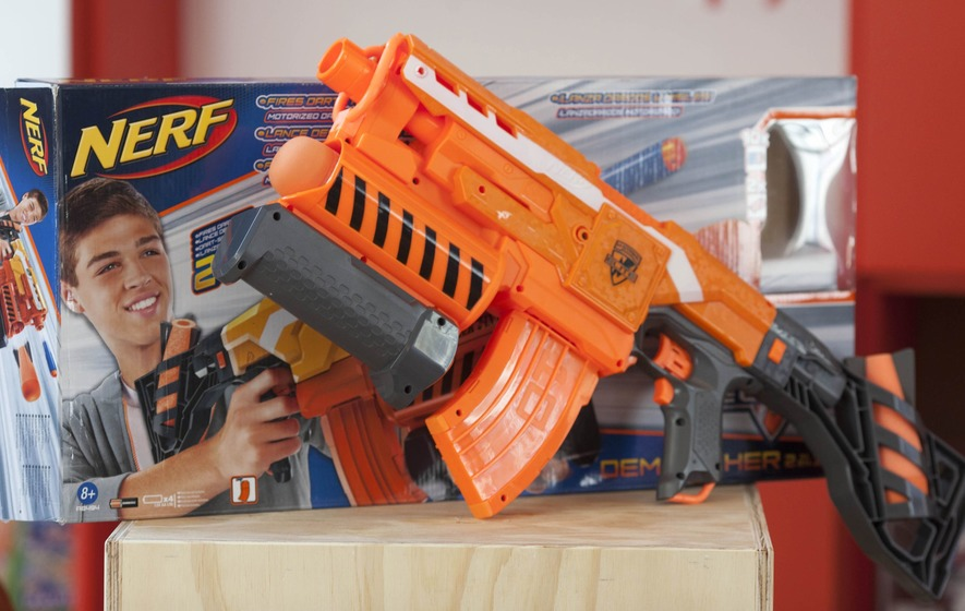 Nerf's new 70 MPH ball-shooting guns are way pretty serious for toy  firearms and after they hit the market, it wasn't long before the modding  started.