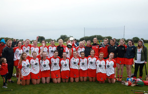 Loughgiel camogie forwards have too much firepower for battling Ballycastle