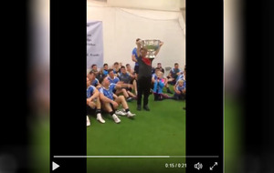 Video: Dublin invite young Derry fan to lift Sam Maguire