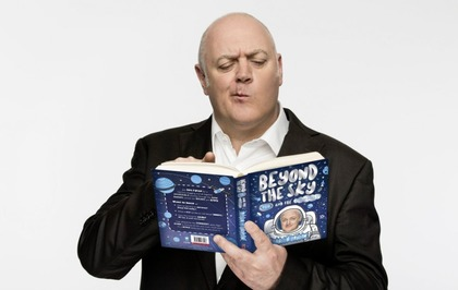 Comic and TV presenter Dara Ó Briain finds space to write a children's book
