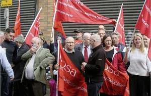 NIPSA protest against threat issued to probation staff