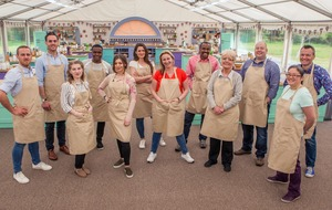 Baker becomes unstuck in caramel week on The Great British Bake Off