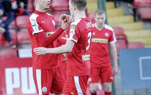 Jay Donnelly bags a hat-trick as Cliftonville thrash Knockbreda