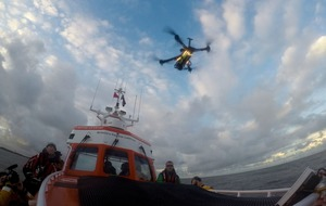British lifeboat crew trials drones on search and rescue operations in world first