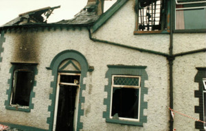 1987 Kildare fire in which woman and two children died being treated as murder