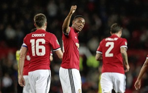Marcus Rashford double eases Manchester United past Burton