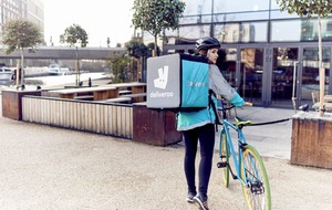 Deliveroo sales grow by 600% in a year