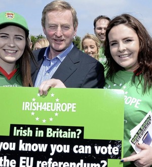 Irish-born people in Britain nearly 100,000 higher than Ireland's UK-born population