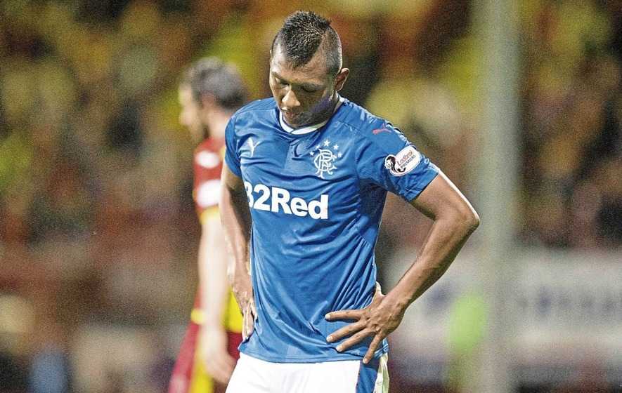 Rangers boss urges striker to stay cool