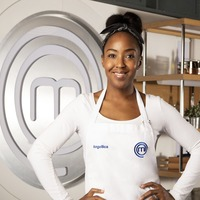 Angellica Bell would love to pip her husband with a Celebrity MasterChef win