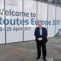 Global recognition for Belfast International Airport director Uel Hoey