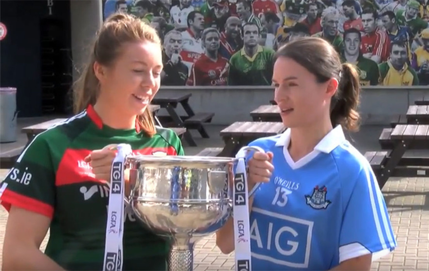 Video: Ladies' captains speak ahead of Dublin v Mayo All-Ireland final at Croke Park