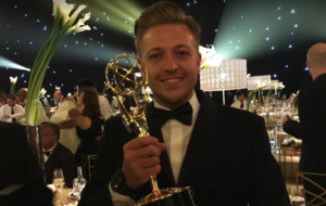 Emmys gatecrasher took photos with James Corden