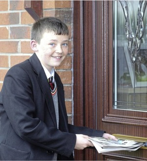 Schoolboy (12) comes to aid of pensioner during Irish News paper round