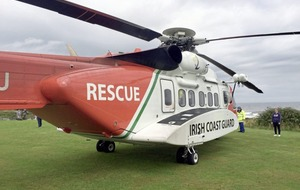 Coastguard airlift woman to hospital after Causeway fall
