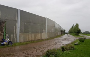 Anger at Co Tyrone wall that looks like it was 'inspired by Donald Trump'
