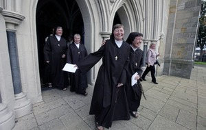 In pictures: Former journalist and ex-barrister 'living the dream' in new lives as nuns