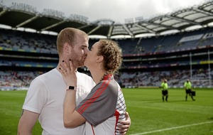 Derry GAA footballer's joy at surprise marriage proposal in Croke Park