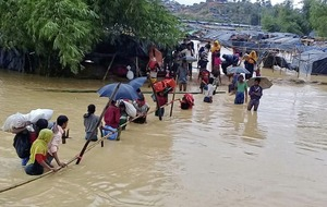 Rohinghya refugees in desperate need