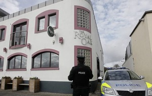 Carrickfergus men accused of attacking pub bouncer no longer facing attempted murder charge