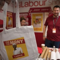 See Jeremy Corbyn shaving cream and other Labour Party swag on sale at conference
