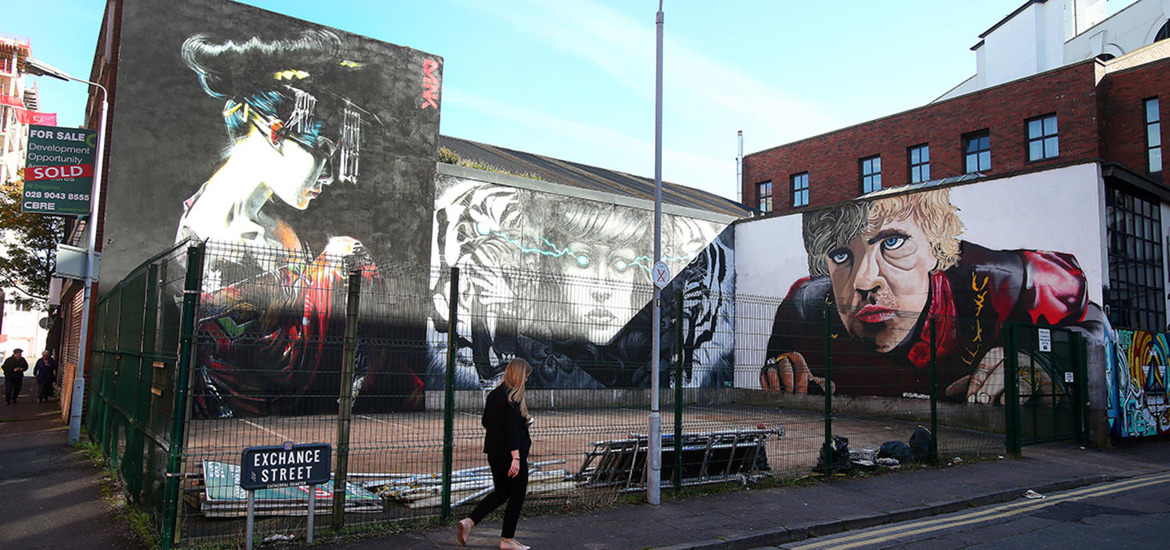 Culture Night murals in Belfast