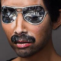Myleene Klass becomes Freddie Mercury for charity campaign
